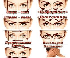 Гимнастические упражнения для повышения зрения