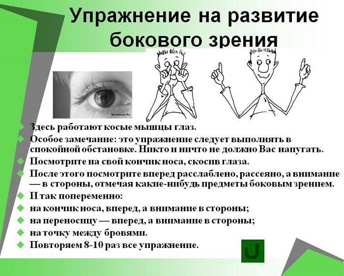 Развитие зрения